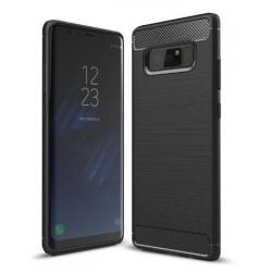 Samsung Note 8 N950F - Housse en silicone carbone noir