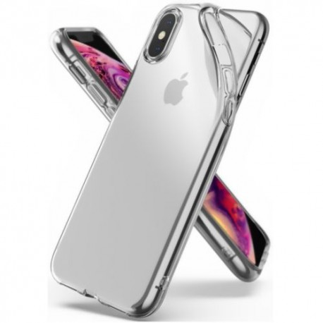 Apple iPhone XR - Housse en silicone TPU Transparente