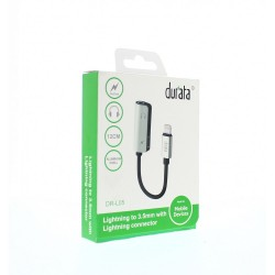 DURATA LIGHTNING TO JACK 3.5MM