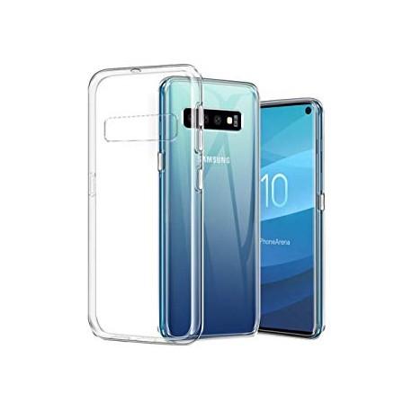 Samsung S10+ G975F - Housse en silicone TPU Transparente
