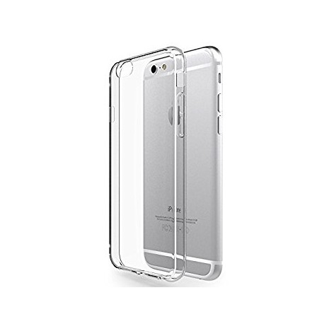 Apple iPhone X - Housse en silicone TPU Transparente
