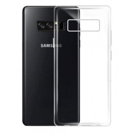 Samsung Galaxy Note 8 - Housse en silicone TPU Transparente