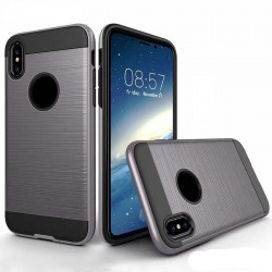 Coque Survivor pour iPhone X Gris - Grey